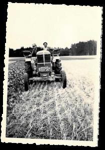 Der Traktor von damals